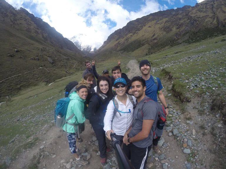 Hiking to Machu Picchu, vomit, diarrhea and no bathroom