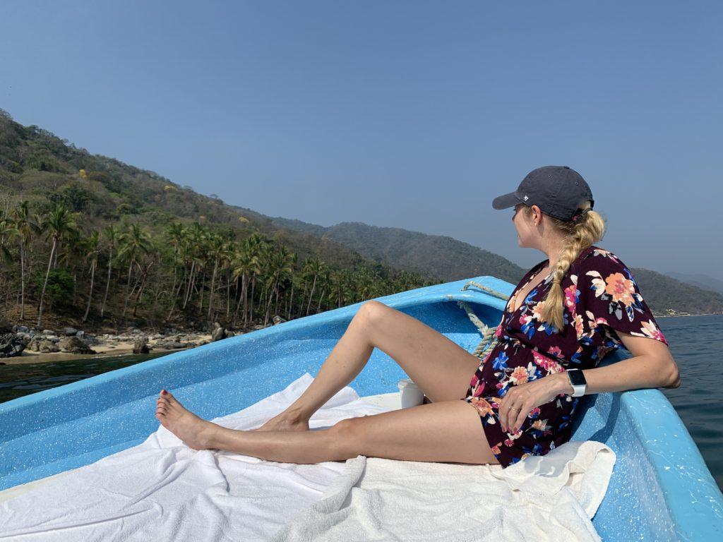 boat ride in Mexico
