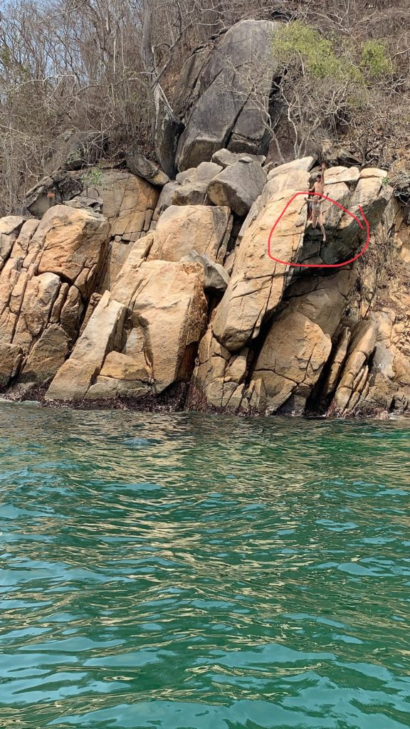 One of the best activities in Nuevo Vallarta is cliff jumping
