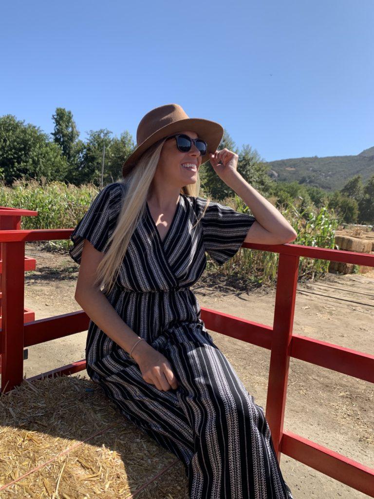 Bates Nut Farm hay ride