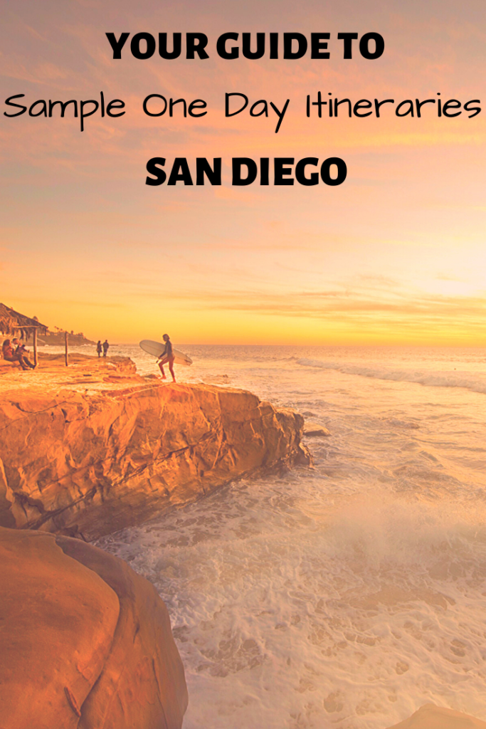 The ultimate guide to spending 1 day in San Diego. Sample itineraries and all. #sandiego #guidetosandiego #california #trips #travel #southerncalifornia Make the most of your 24hrs in San Diego.