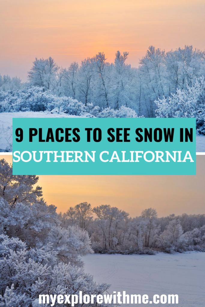 Looking to find snow in Southern California? It may be rare, but it can be found. Read this post for all the best places to find snow in Southern California. travel   snow   southerncalifornia   san diego   winter   winter time   snow gear   snow activities   #snow   #winter   travel California   visit California