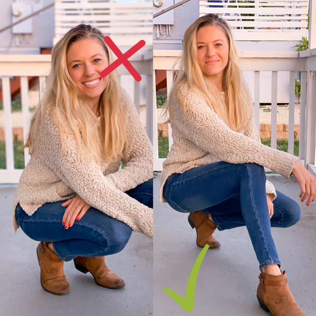 how to look slimmer in photos