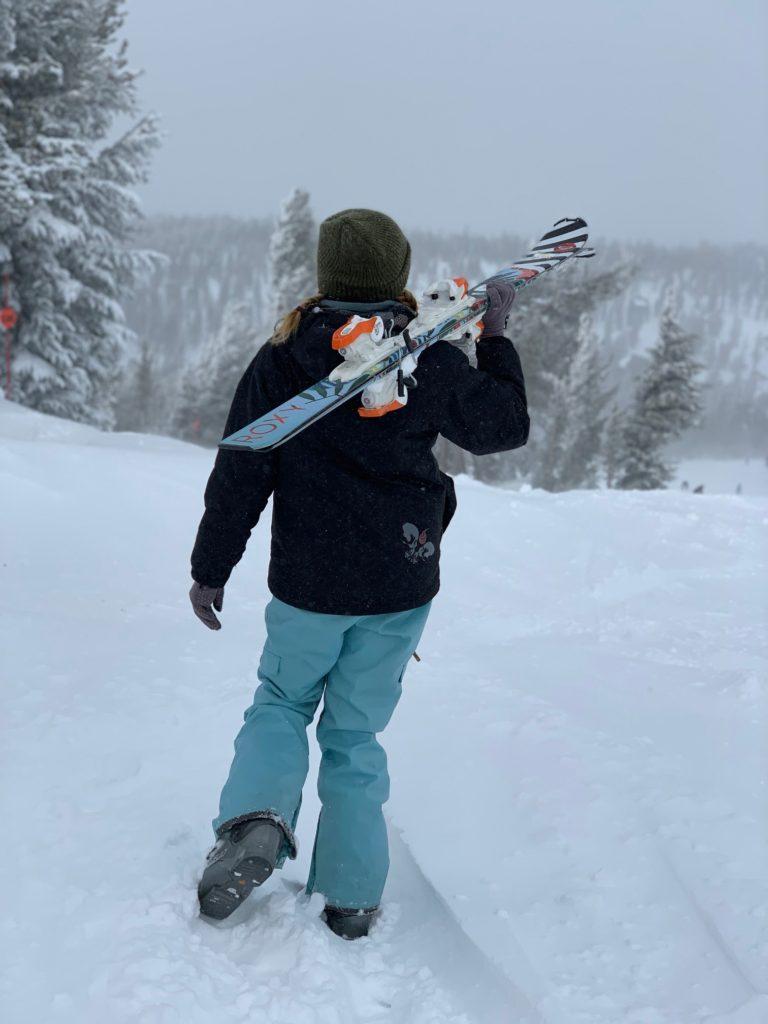 Skiing at Big Bear Mountain