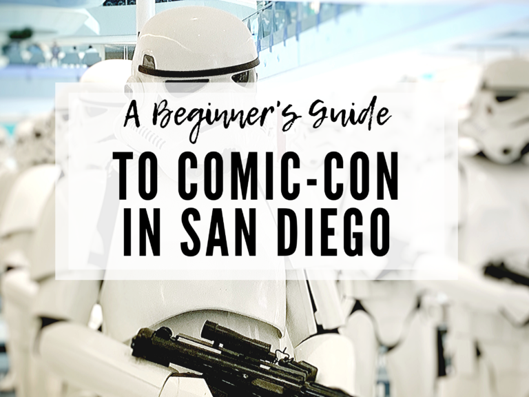 A BEGINNER'S GUIDE TO SAN DIEGO COMIC-CON