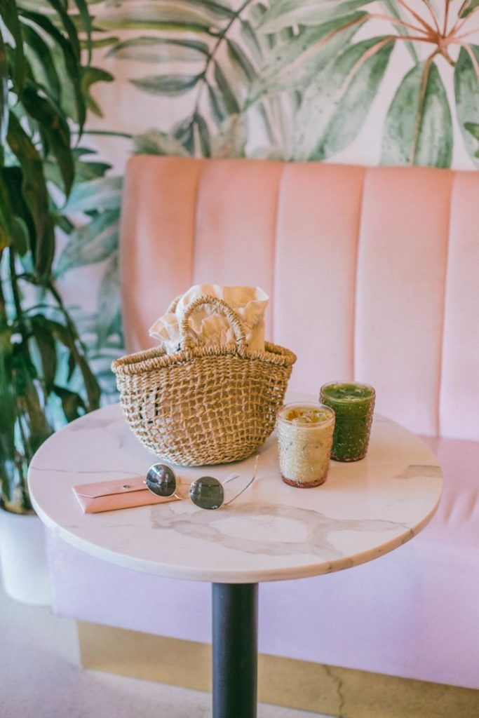 Visit a coffee shop like Holy Matcha this spring in San Diego