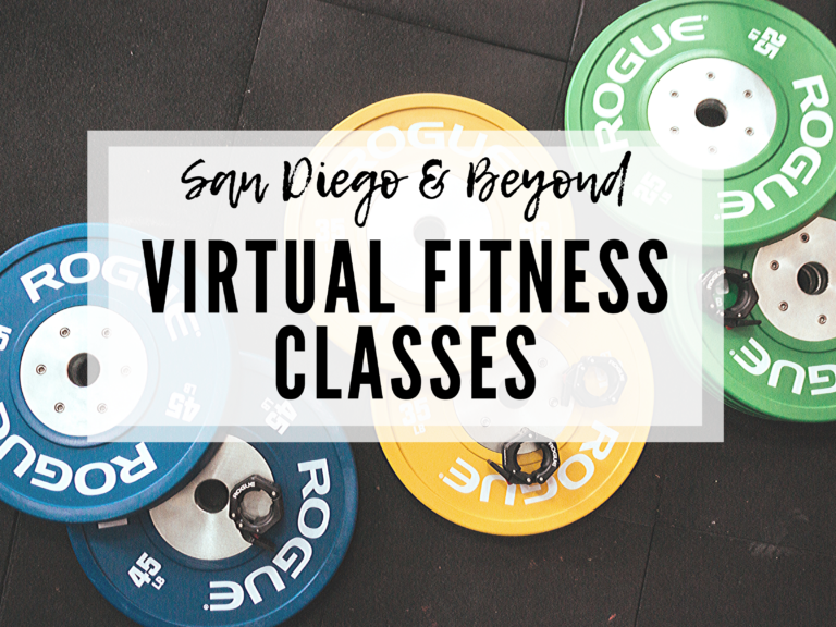 VIRTUAL FITNESS CLASSES: SAN DIEGO AND BEYOND