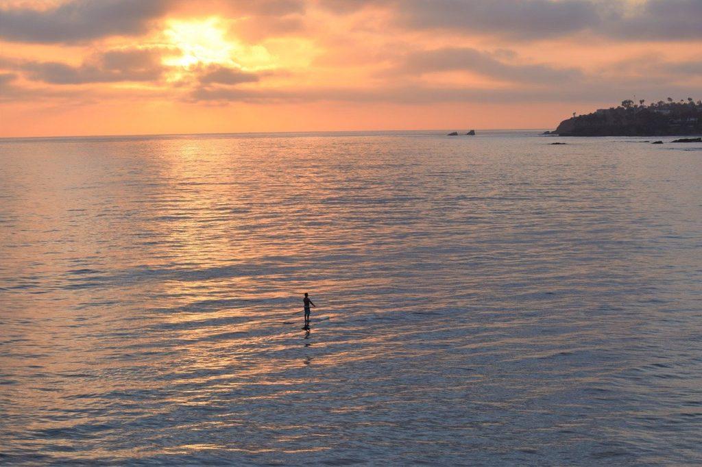 La Jolla Cove paddle board in San Diego