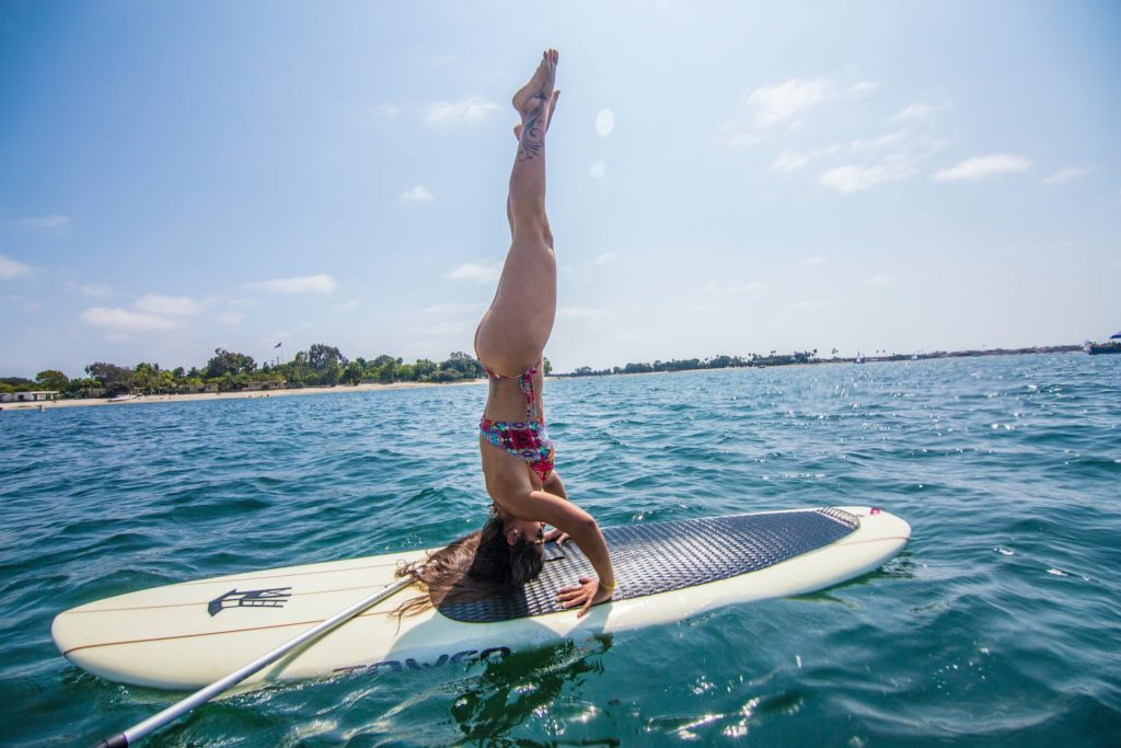 SUP Yoga in Mission Bay