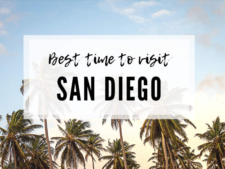 BEST TIME TO VISIT SAN DIEGO