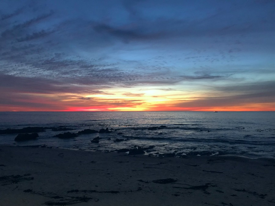 Palisades Park sunset