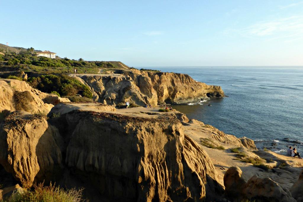 San Diego travel sunset spots sunset cliffs