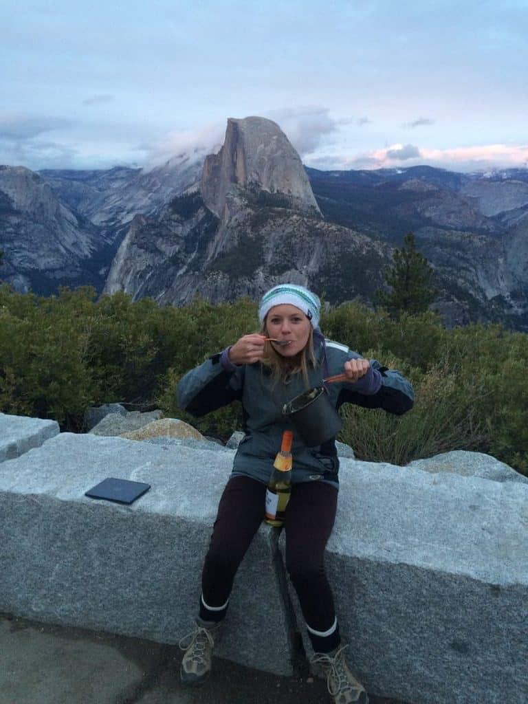 Yosemite National Park backpacking trip
