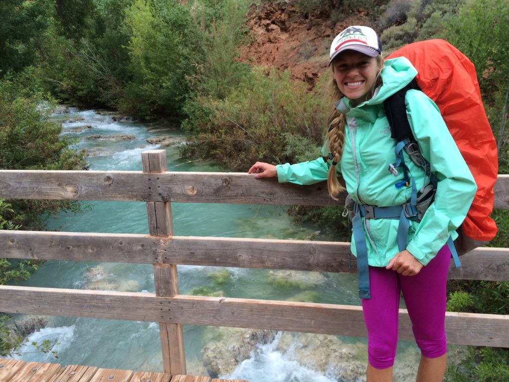 There are certain eco friendly outdoor hygiene tips for a hiking trip like brushing your hair.