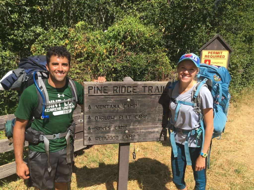 The perfect beginner backpacking trip