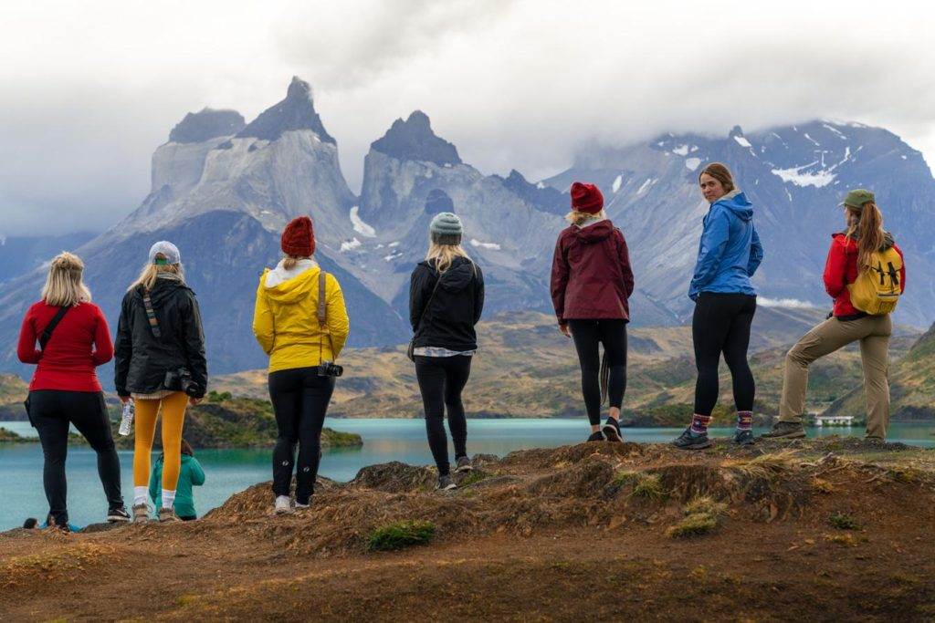 Visiting Patagonia on a group trip
