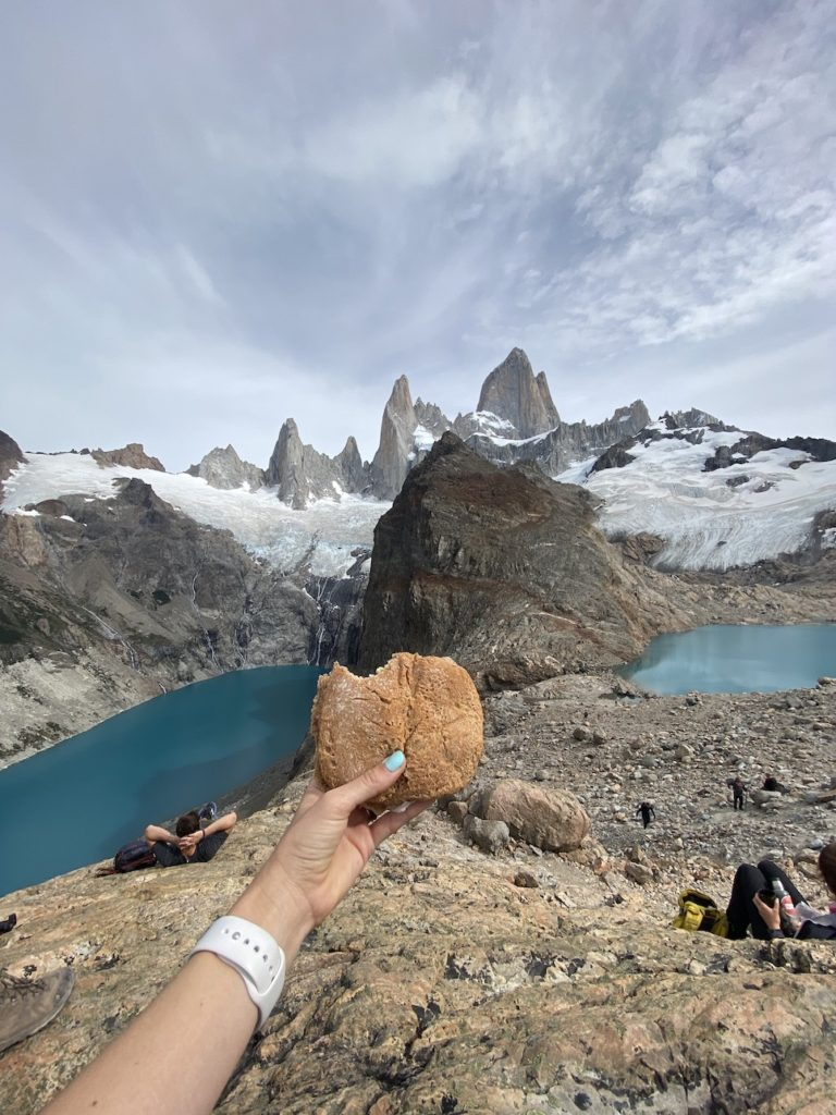 The top of Fitz Roy