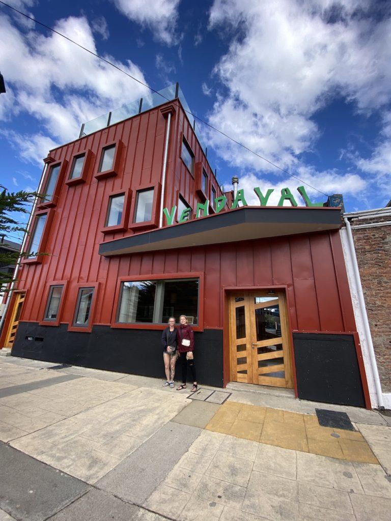 Puerto Natales hostel in South America