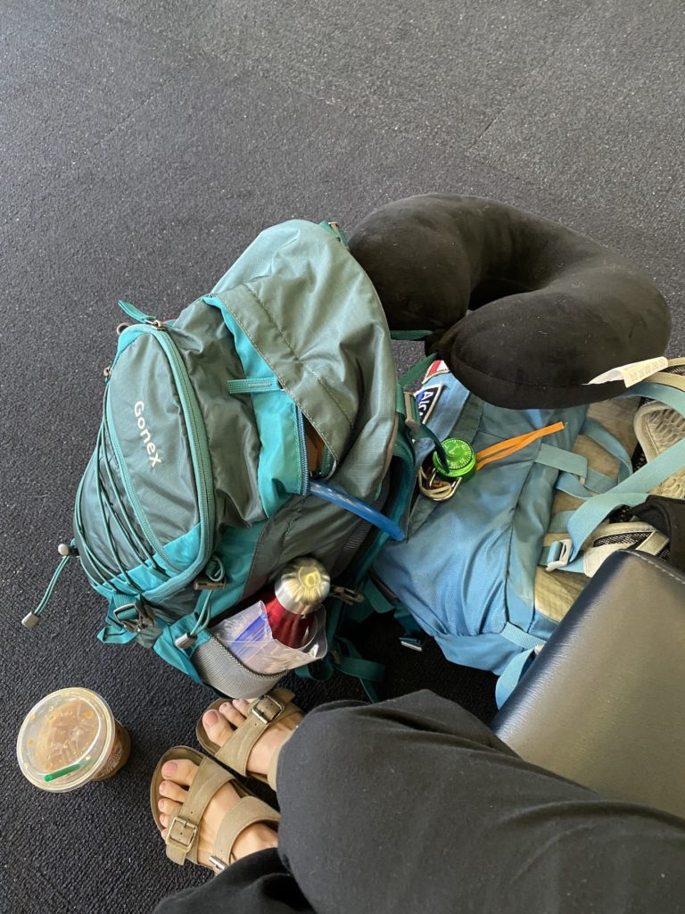 Backpacking back for Patagonia