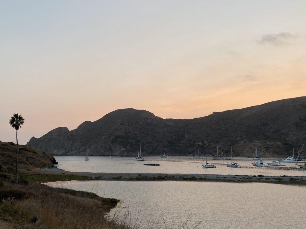 Sunset at Two Harbors Catalina Island