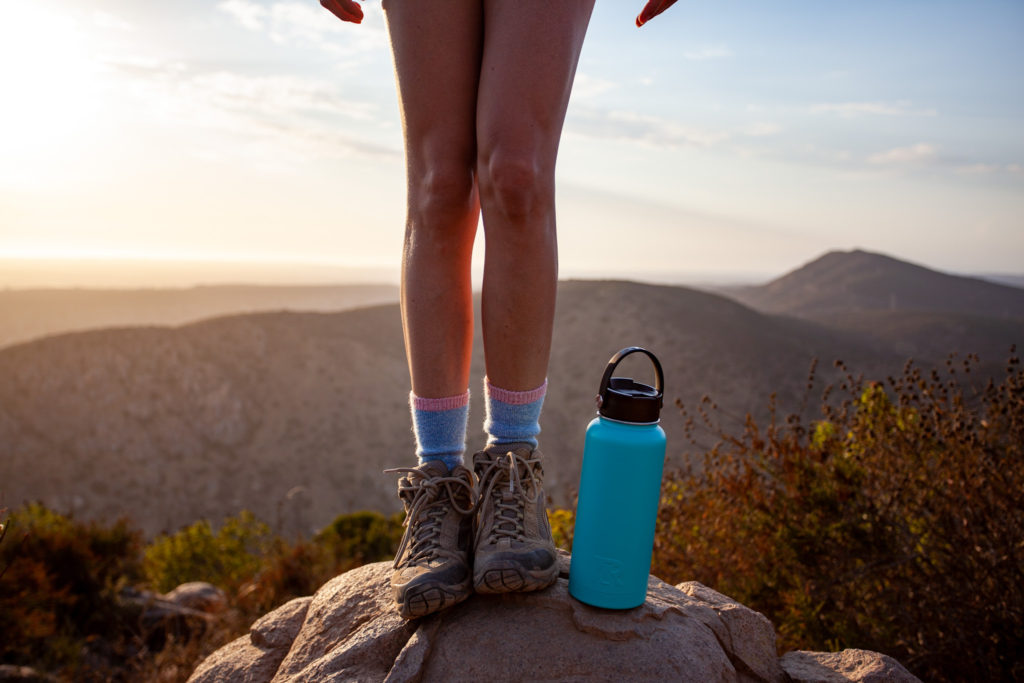 Waterbottle for hiking