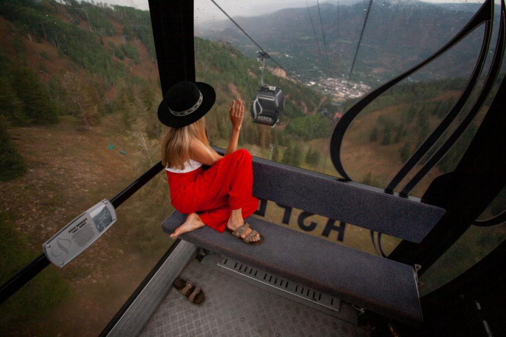 Gondola in Aspen, Colorado