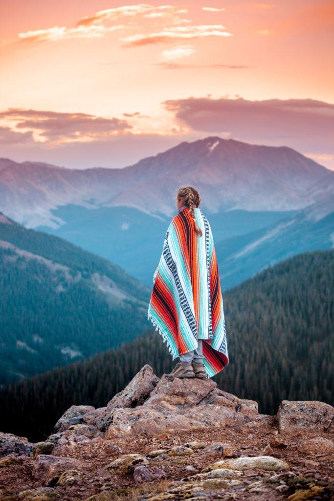 Sunset in Aspen, Colorado