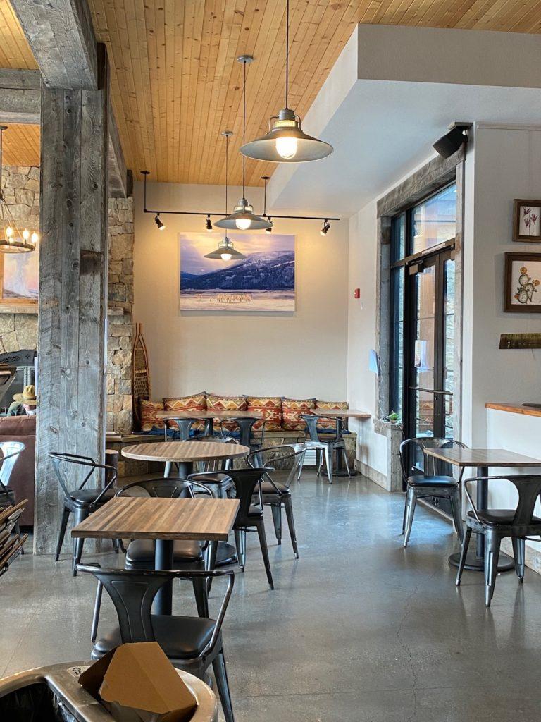Coffee shop in Yellowstone