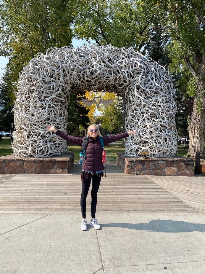 Elk Arches in Jackson