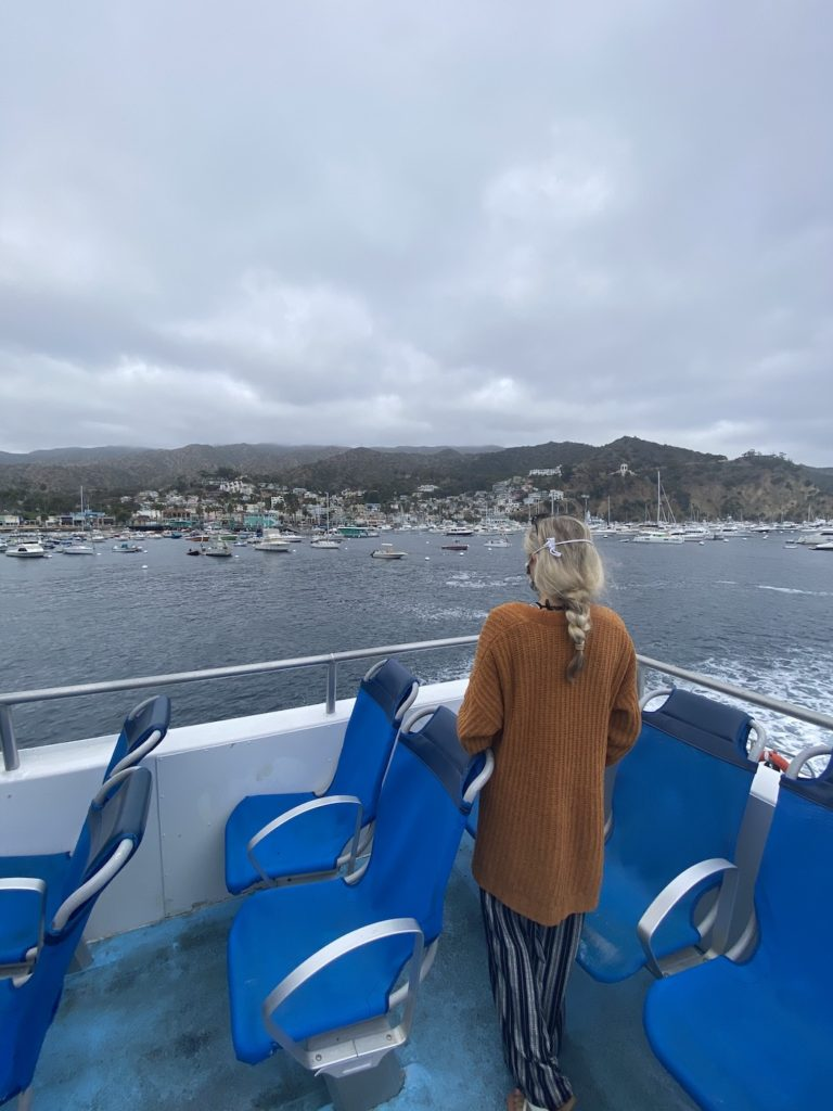 Buying a Catalina island ticket allows you to board the boat to Catalina Island