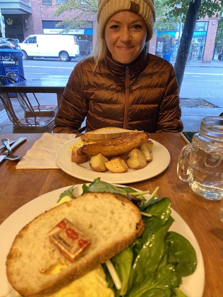 Breakfast in Seattle