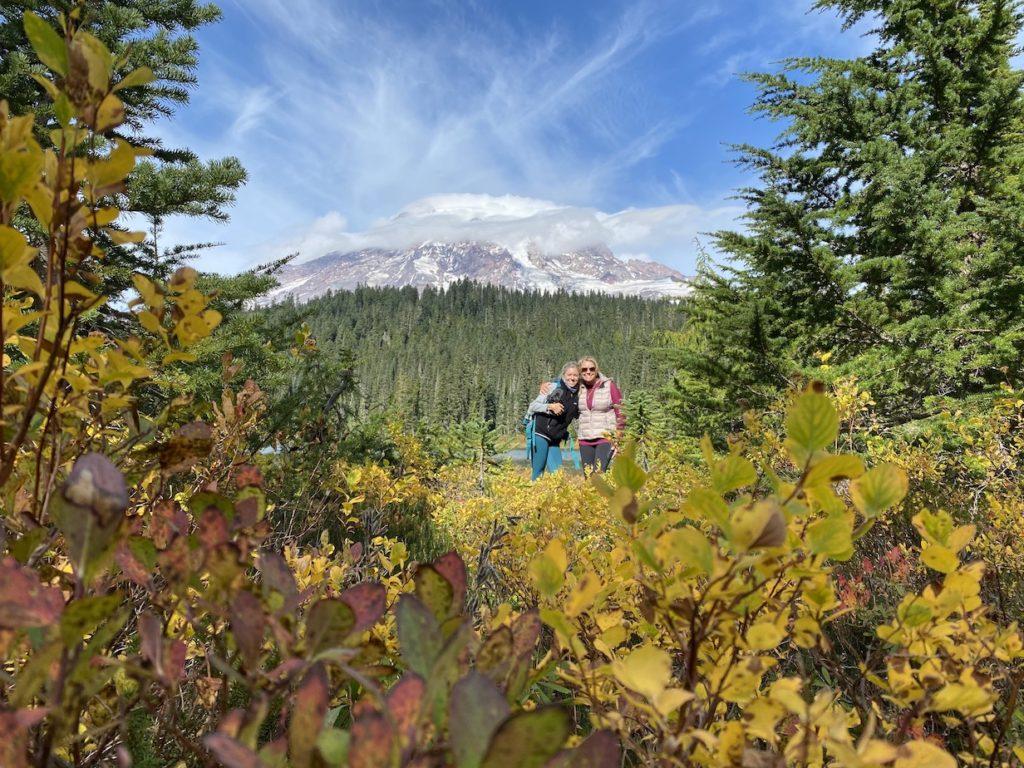 Mt Rainier in the Fall