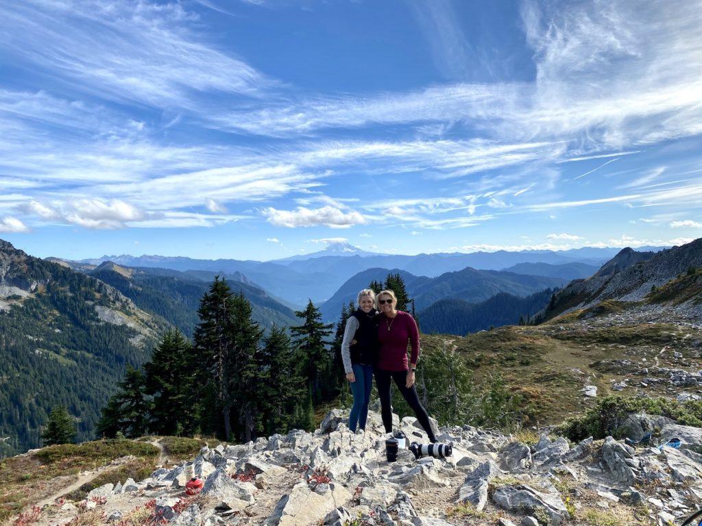Pinnacle Peak hike in Mt Rainier