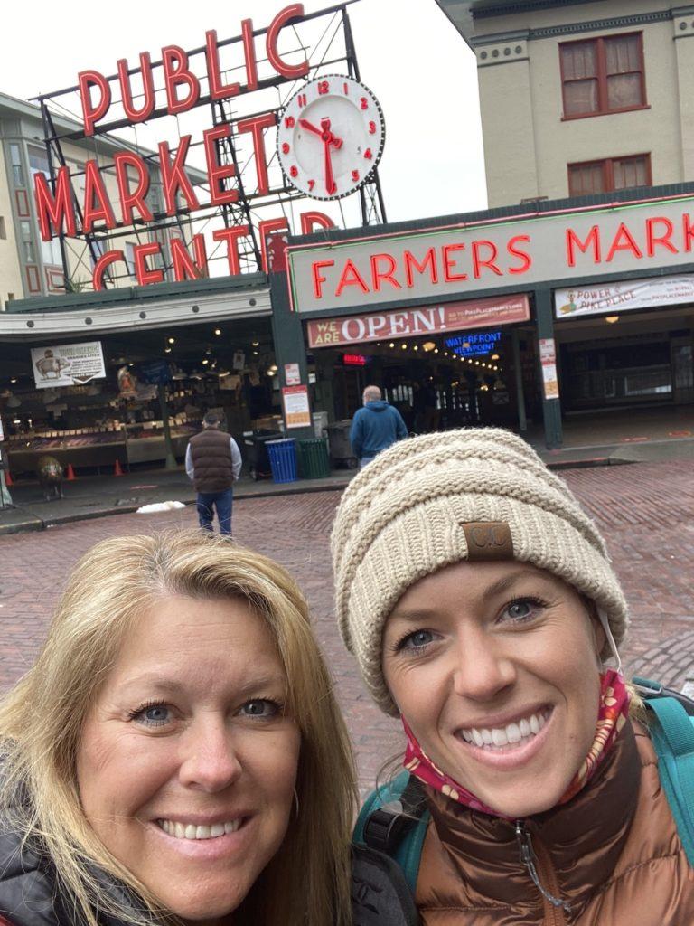 Public Market in Seattle
