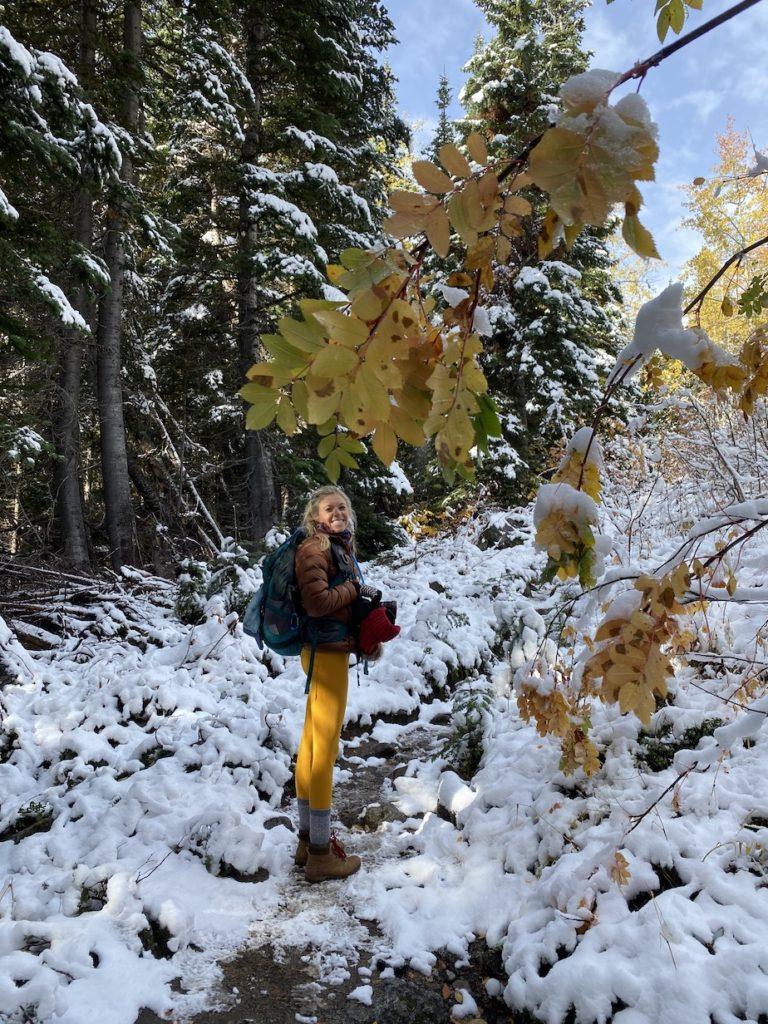 Hiking to Stuart Lake