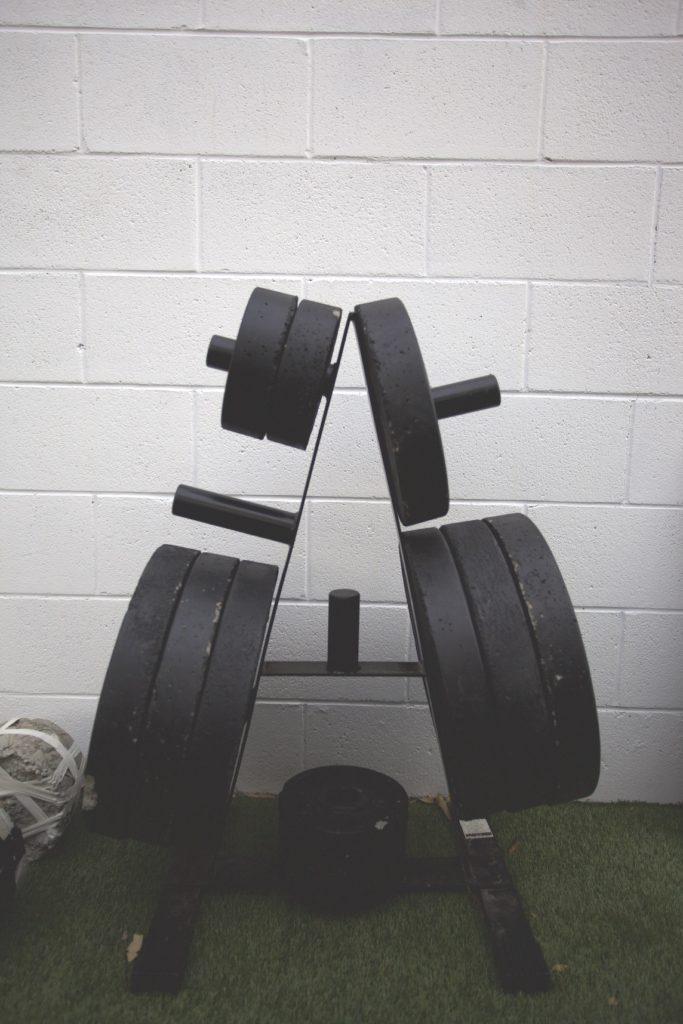 Homemade gym weights built on a budget