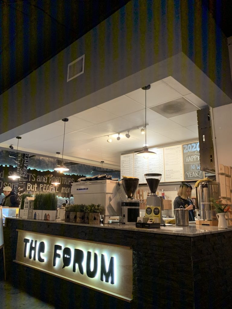 The Forum coffee shop in San Diego