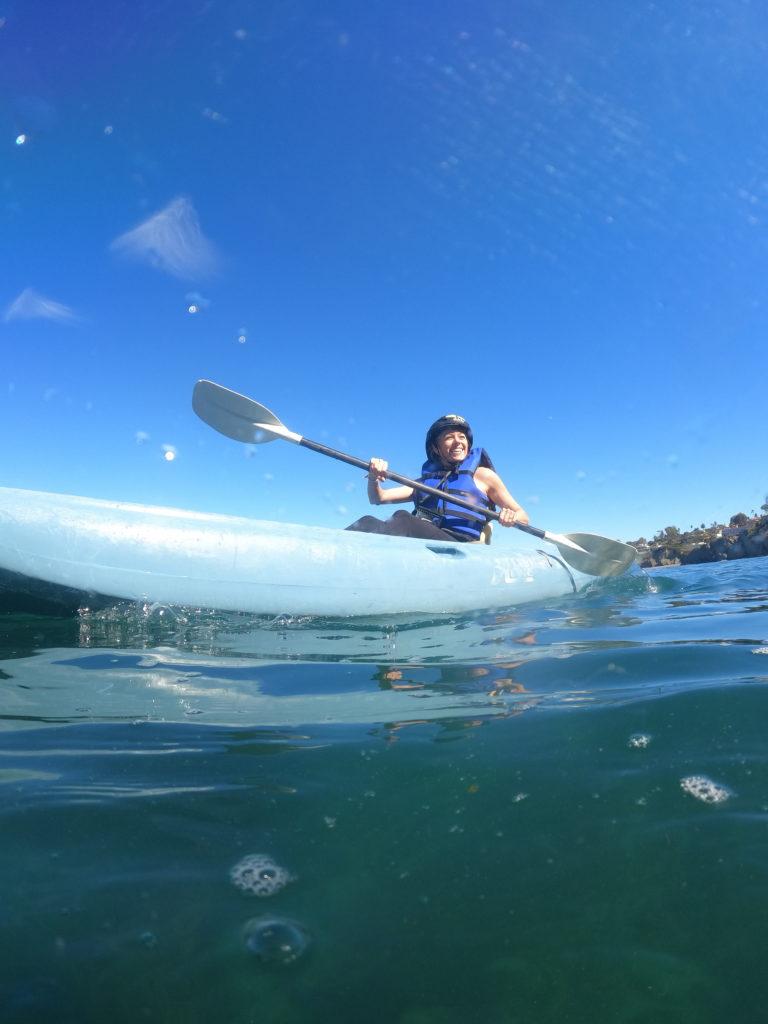 Kayaking the La Jolla sea caves