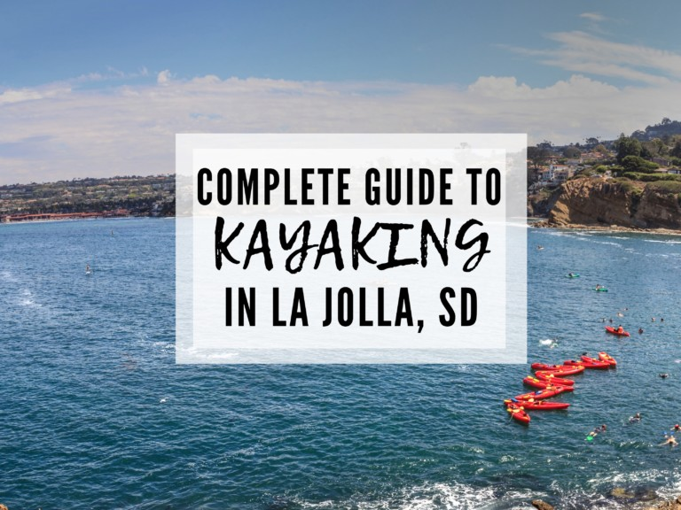 Kayaking La Jolla Caves with Everyday California (discount code included)