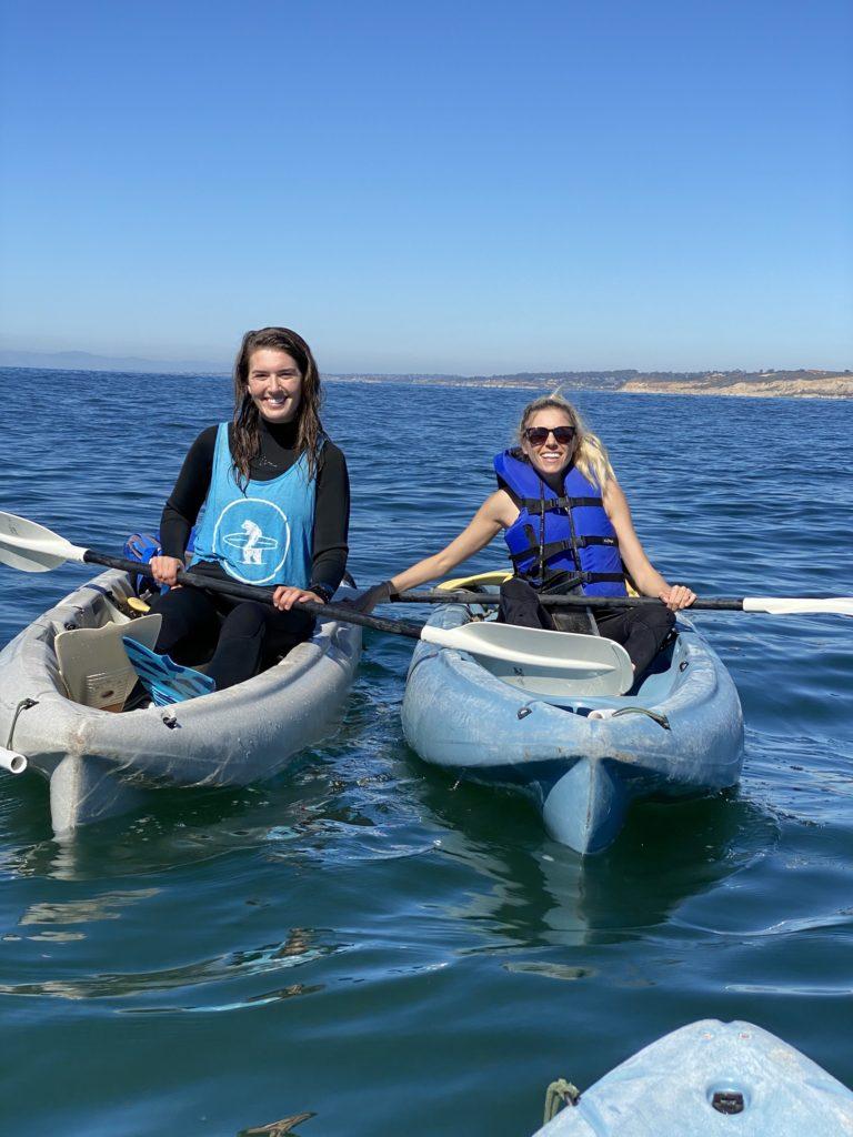 Kayaking with everyday California