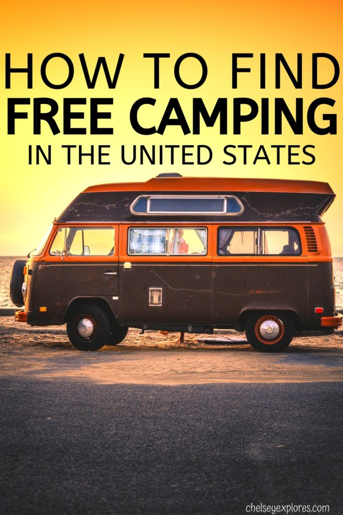 One of the hardest parts about vacationing can be finding the place to stay. In this article I share how exactly to find free camping in the USA. I take you through all the steps and inform you how to stay safe while camping for free.