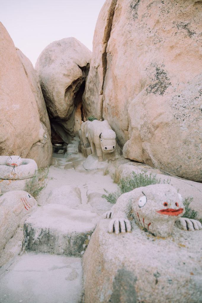 Boulder park rocks in Jacumba, Ca