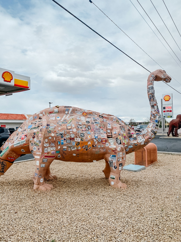 Dinosaur in Gila Bend is a great stop to make on your San Diego to Phoenix drive