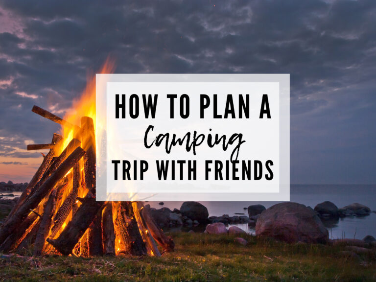How to Plan a Camping Trip with Friends