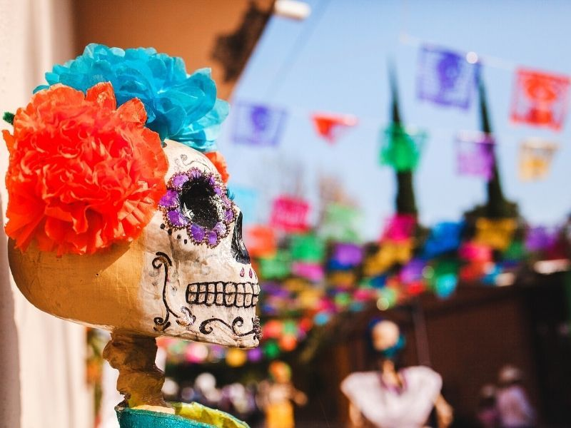 Dia de Muertos is a sought after even in Mexico which occurs in the Fall