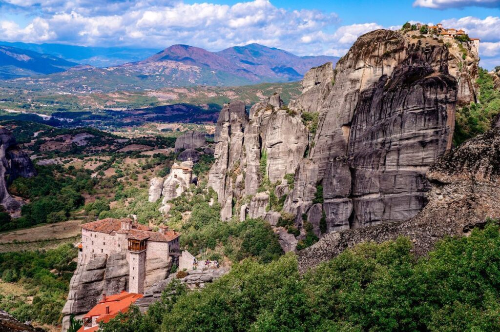 Greece's stunning scenery offers a great Fall vacation spot